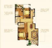 禹洲中央广场洋房E6户型3室2厅117㎡