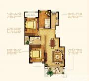 禹洲中央广场洋房F9户型3室2厅99㎡