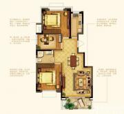 禹洲中央广场洋房E9户型3室2厅94㎡