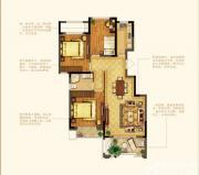 禹洲中央广场洋房F8户型3室2厅103㎡