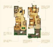 禹洲中央广场洋房F1户型7室3厅126㎡