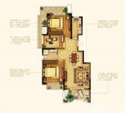 禹洲中央广场洋房E8户型3室2厅99㎡