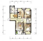 绿地中心C2户型3室2厅101㎡