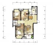 绿地中心C1户型3室2厅102㎡