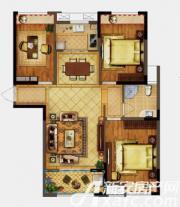 禹洲天境G3户型3室2厅104.66㎡