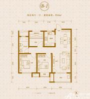 保利东郡B1户型2室2厅93㎡