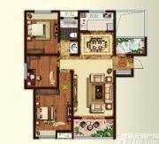 文一名门首府G1-A户型3室2厅105㎡
