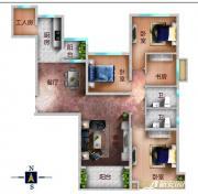恒大帝景160平户型4室2厅160㎡