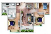恒大帝景104平3室2厅104㎡