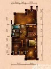 原树提香别墅H2户型272.47㎡(三层)2室46.38㎡