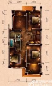 原树提香别墅H2户型272.47㎡(二层)4室75.12㎡