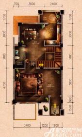 原树提香别墅H2户型272.47㎡(一层)2厅79.21㎡