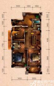 原树提香别墅G户型276.33㎡(二层)3室66.24㎡