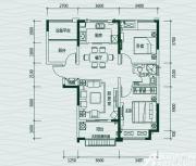 华地翡翠蓝湾奢适2+1房2室2厅95㎡
