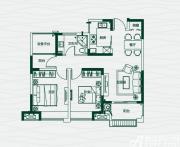 华地翡翠蓝湾甜蜜2+1房2室2厅85㎡