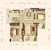 翡翠花园湖景苑D3户型2室2厅