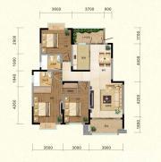 翡翠花园湖景苑翡翠花园湖景苑N1户型3室2厅113.02㎡