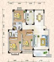 翡翠花园湖景苑翡翠花园湖景苑112平米三室两厅二卫3室2厅122㎡