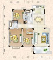 翡翠花园湖景苑翡翠花园湖景苑115平米三室两厅二卫3室2厅115㎡