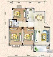 翡翠花园湖景苑翡翠花园湖景苑108平米三室两厅3室2厅108㎡