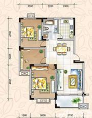 翡翠花园湖景苑翡翠花园湖景苑99平米三室两厅3室2厅99㎡