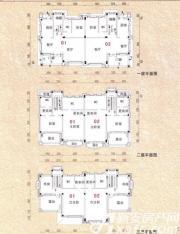 碧桂园滨湖城钻石墅G107户型5室2厅260㎡