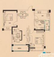 远大尚林苑G2户型2室2厅91.49㎡
