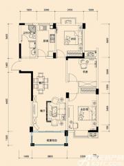 远大尚林苑H1户型3室2厅112㎡