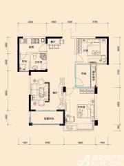 远大尚林苑H2户型3室2厅96㎡