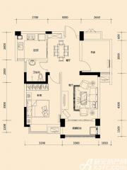远大尚林苑A2户型2室2厅78.51㎡