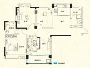 远大尚林苑C1户型3室2厅116.1㎡