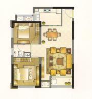 中建500米B户型2室2厅78㎡