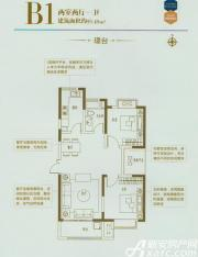 利港银河广场B1璟台2室2厅95.48㎡