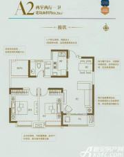 利港银河广场A2雅筑2室2厅88.2㎡