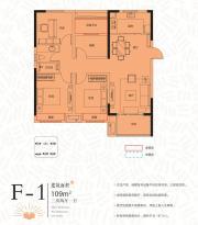 联投中心书城F-13室2厅109㎡