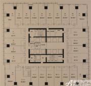 绿地中央广场C座标准层
