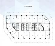 万科中心七层平面图
