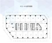 万科中心11-17层平面图