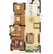 圣联锦城A户型3室1厅114.23㎡