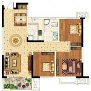 圣联锦城B户型3室1厅99.23㎡