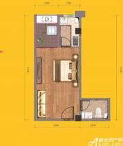 和昌中央城邦F81室1厅39㎡