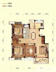 馨领域G2户型3室2厅115.86㎡