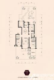 保利西山林语145㎡4室2厅145㎡
