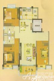 安庆碧桂园YJ125T3室2厅125㎡