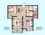 绿地上郡C2户型2室2厅92.91㎡