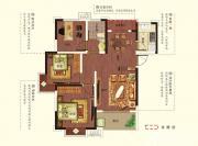 尚泽琪瑞康郡A1户型3室2厅99㎡