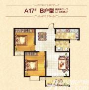 恒丰城东新城B户型2室2厅92.66㎡