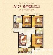 恒丰城东新城G户型3室2厅104.67㎡