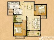 圣联梦溪小镇3#D户型2室2厅87㎡