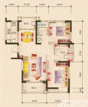 新加坡花园城18#楼01户型3室2厅101.86㎡